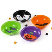 4 coupelles Halloween