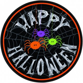 10 Assiettes Happy Halloween Boo !
