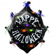 Grand Ballon Mylar Happy Halloween