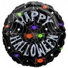 Ballon Mylar Happy Halloween Rond