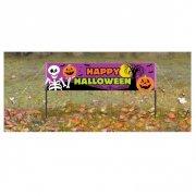Banni�re � Piquer Happy Halloween