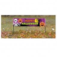 Bannière à Piquer Happy Halloween