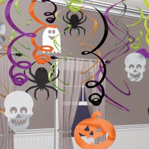 30 Décorations à suspendre Happy Halloween