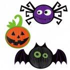 3 décorations Halloween à suspendre