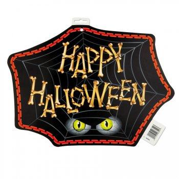 Décorations araignée happy halloween