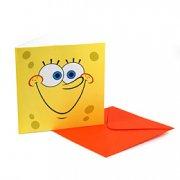 6 invitations Bob l'Eponge