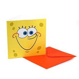 6 invitations Bob l Eponge