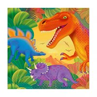 Contient : 1 x 16 serviettes Dino-Party!