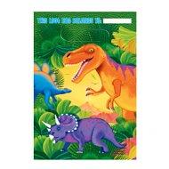 8 pochettes à cadeaux Dino-Party!