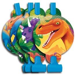 8 sans-gênes Dino-Party!