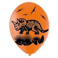 Contient : 1 x 6 Ballons Dino party