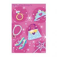 Contient : 1 x 8 pochettes à cadeaux Princesse