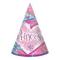 Contient : 1 x 8 chapeaux Princesse
