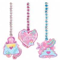 Contient : 1 x 3 décorations Princesse