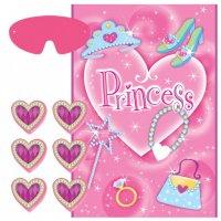 Contient : 1 x Grand jeu princesse à fixer au mur
