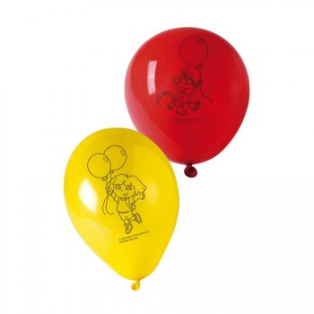 6 ballons Dora