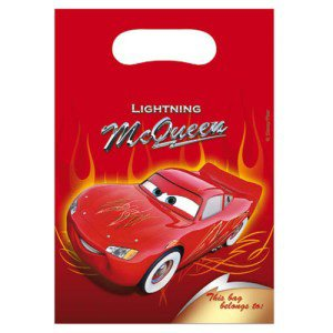 6 pochettes à cadeaux Cars Lightyear