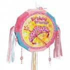 Pull pinata Birthday Princess d�pliable