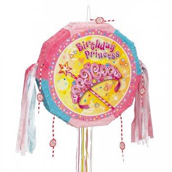 Pull pinata Birthday Princess dépliable