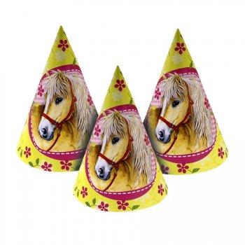 6 chapeaux Cheval