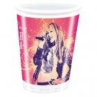 8 gobelets Hannah Montana