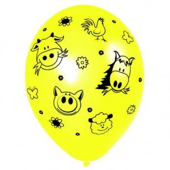 6 Ballons Animaux de la Ferme