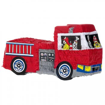 pinata camion de pompier pour l 39 anniversaire de votre enfant annikids. Black Bedroom Furniture Sets. Home Design Ideas