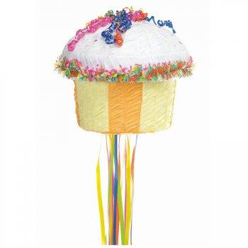 Pull Pinata Cupcake Jaune
