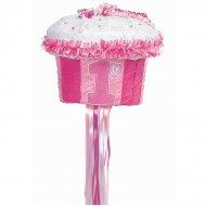 Pull Pinata Cupcake Rose