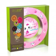 Coffret 4 Assiettes Decopop Miaou