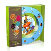 Coffret 4 Assiettes Decopop Captain Rakham