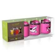 Coffret 4 Verres Decopop Lady Pirate