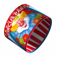 4 Ronds de serviette Decopop Circus Party !