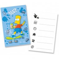 6 Invitations The Simpsons