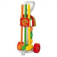 Chariot de croquet en plastique