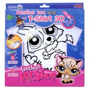 T-shirt à customiser Littlest  Petshop