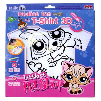 T-shirt à customiser Littlest  Petshop