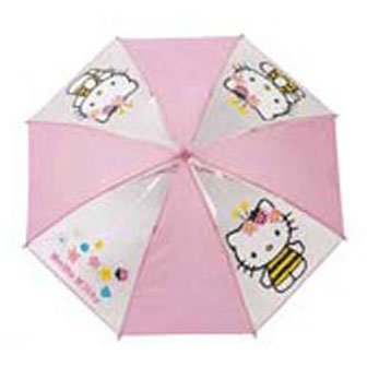 Parapluie Hello Kitty rose