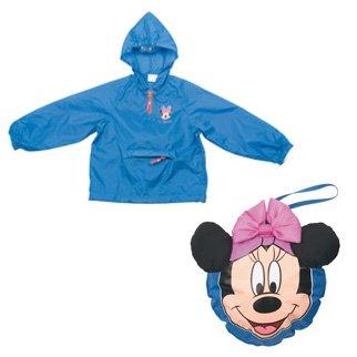 Coupe vent Minnie 5-6 ans bleu
