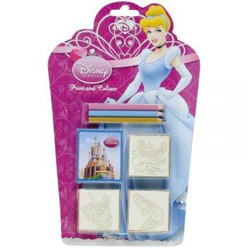 3 Tampons Princesses Disney