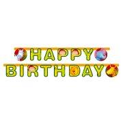 1 chainette happy birthday safari