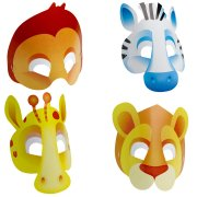 8 masques safari