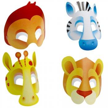 8 masques safari