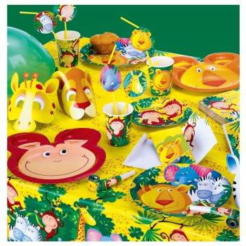 Grande boîte à fête Safari