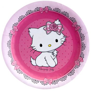 8 assiettes Charmmy Kitty