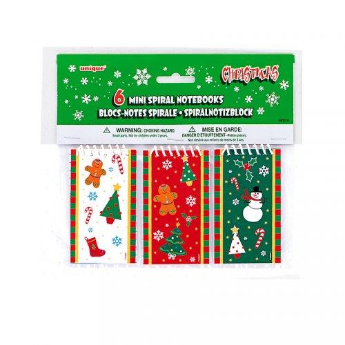 6 Blocs-notes Noël