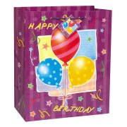 Grand sac cadeau ''Happy Birthday''