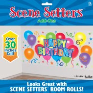 Décoration murale Happy Birthday