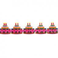 Guirlande Gâteau d'anniversaire