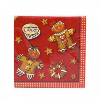 Serviettes papier pain d épices